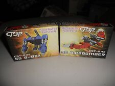 3rd Party Transformers KFC Shattered Glass SG-B-Box Birdbomber CST-03x CST-04x
