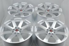 "4 New DDR i10 17x7.5 4x100/114.3 38mm White/Polished Face 17"" Wheels Rims"