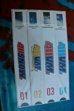 411 VM Video Magazine Snowboarding Vintage 2001 Sealed VHS Tape - Box Set (of 4)