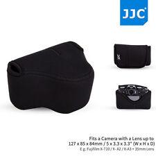 JJC Oc-f1bk Neoprene Camera Pouch Case Bag for 127 X 85 X 84mm Camera Lens AU