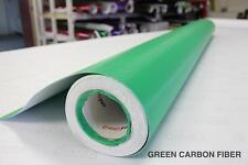 Dark Green Carbon Fiber 30M x 1.52M VViViD9 Cast Vinyl Bubble-Free Car Wrap