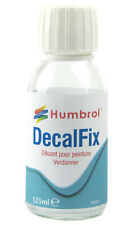 Humbrol AC7432 Water Based Decalfix For Fixing Decals 125ml Glass Bottle T48Post
