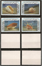 Die Komoren Briefmarken Neu n° Scott 610 Rechts 613 Muscheln Pr 184
