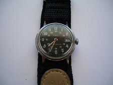 Timex Mechanical (Hand-winding) Polished Round Wristwatches