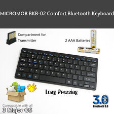 MICROMOB BKB-02 Bluetooth 3.0 mobile keyboard for Windows, Android and iOS