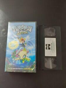VHS POKEMON 4 EVER - 2004
