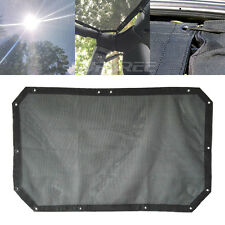 Jeep Wrangler Sunshade Mesh Cover Bikini Top Full UV Protection JK 2-Door 4-Door