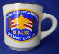 Vintage National Scout Jamboree 1985 Boy Scouts B.S.A Coffee Mug Cup