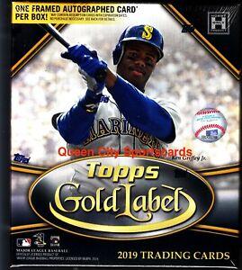 2019 Topps Gold Label Baseball Factory Sealed Hobby Box