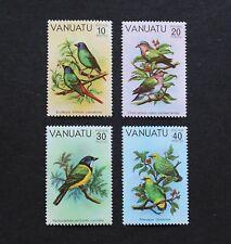 VANUATU - 1981 SCARCE BIRDS SET MNH RR
