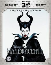 Maleficent (Blu-ray 3D+2D, 2-Disc Set w.Slipcover) Russian,English,French,Kazakh