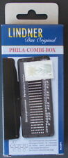 Lindner Phila-Combi Box. Combination perforation gauge and watermark tray.
