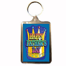 Fatehrs Day Crown - Fathers Day Keyring