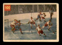 1954 Parkhurst #100 Terry Sawchuk/Bernie Geoffrion IA G/VG X1686469