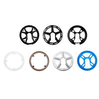 Bike Bicycle Sprocket Cranksets Chainring Guard Protector Cap 36/42T Plastic