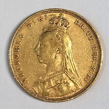 1890-S Great Britain Sovereign Gold Coin - High Quality Scans #C869