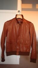 $4k RALPH LAUREN Purple Label/Italie Agneau-Cuir A2-vol/bomber jacket 38/S/46