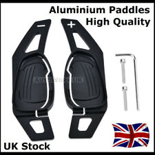 Black Paddle Shift Extensions Shifters for Audi Steering Wheel R8 RS3 RS4 TT RS