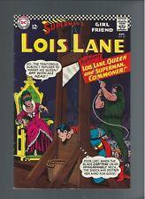 Superman's Girlfriend Lois Lane #67 [DC, 1966] FN+ 6.5 12 cent cover Queen Lois