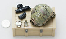 1/6 Soldier Story French Special Forces Multicam FAST Helmet Partial Set