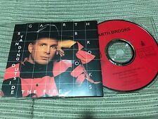 GARTH BROOKS SPANISH CD SINGLE SPAIN 1 TRACK HISPAVOX 93 STANDING - COUNTRY ROCK