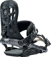 New 2018 Rome 390 Boss Snowboard Bindings Size S/M Black