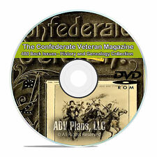 The Confederate Veteran Magazine 480 issues Civil War Soliders Genealogy DVD V83