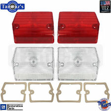 1965 Chevy II Taillight Tail Light Lamp & Back Up Reverse Lens & Gaskets - USA