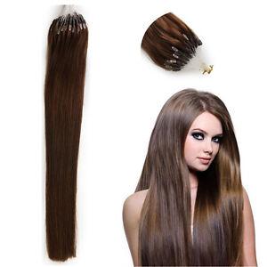 MICRO LOOPS 1G 20'' HUMAN HAIR EXTENSIONS Best Feedback MICRO RING STRAIGHT
