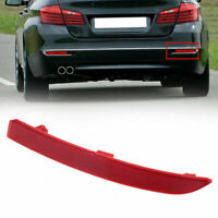 Bapmic 63147318555 Rear Left Right Red Bumper Reflectors for BMW F10