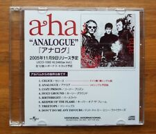 a-ha JAPAN ★ ANALOGUE ★ 8-Track ALBUM PROMO SAMPLER CD 2005 AHA