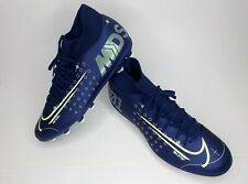 NIKE SOCCER CLEATS SUPERFLY 7 CLUB SIZE 9.5 BLUE