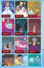 Disney Collect Illustrated Adventures Cinderella Complete Set + Award
