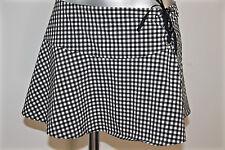 RAVAGE mini jupe de plage à carreaux vichy noir et blanc T 40 fr 44i (3) NEUVE