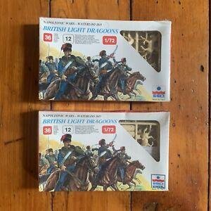 Esci Napoleonic Wars - Waterloo 1815 British Light Dragoons 1/72