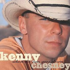 KENNY CHESNEY - WHEN THE SUN GOES DOWN CD