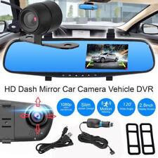 4.3″ 1080P Car DVR Rearview Mirror + Camera Video Recorder Dash Cam Dual Lens VP