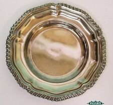 English Silver Plated Circular Plate