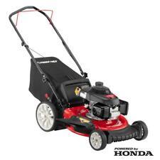 TROYBILT Push Mower Honda Gas Walk Behind High Rear Wheels Cutting TriActi TB160