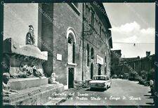 Teramo Civitella del Tronto Auto Foto FG cartolina KF1848