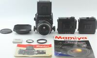 Mint Mamiya RB67 Pro SD Camera Sekor C 50mm F4.5 Lens 6x8 Film Holder from Japan
