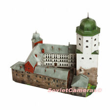 1/250 Building Swedish Vyborg Castle Viipurin Linna 3D Cardboard Model Kit New