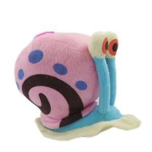 "Gary SpongeBob Squarepants Pet Snail Soft Plush Toy Stuffed Animal Figure 6"""