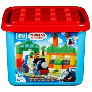 Mega Bloks Thomas & Friends Sodor Adventures 60-Piece Set