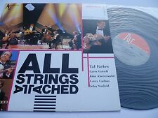 LP,  All Strings Attached, Tal Farlow, John Abercrombie, John Scofield, Japan,M-