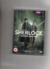 SHERLOCK DVD SERIES 2 STARRING BENEDICT CUMBERBATCH & MARTIN FREEMAN