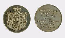 045) Medaglia Sede Vacante 1958 Opus Mistruzzi Principe Sigismondo Chigi AG Rara
