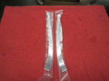 NEW 1970-1976 Porsche 914-4 & 914-6 Rear Sail Roll Bar Trim Moulding Chrome PAIR