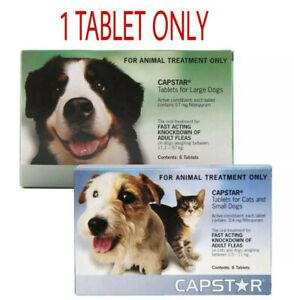 1 Capstar Flea Tablets for Dogs & Cats - Oral Flea Treatment