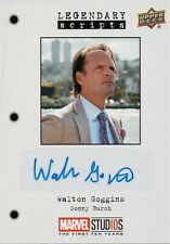 Marvel The First Ten (10) Years, Walton Goggins Autograph Card LS-SB